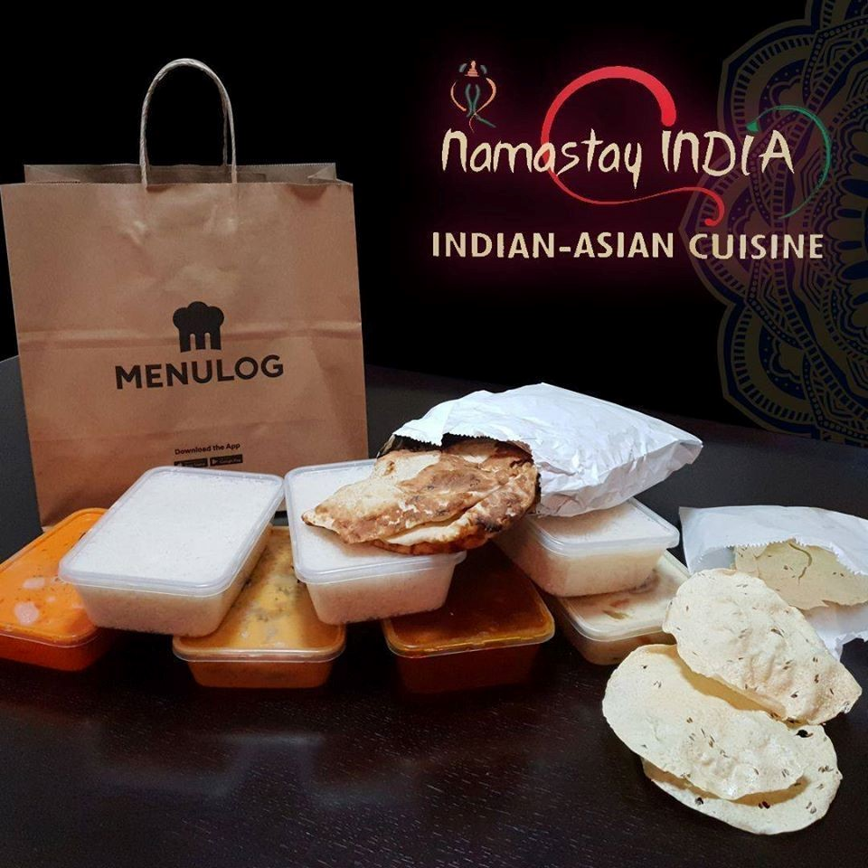 Namastay India serving up delicious food to your door!